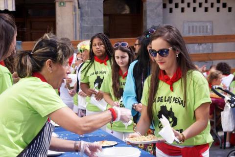 Fotos del día de las peñas en las fiestas de Cascante, 13 de septiembre de 2018