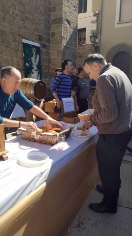 Imagenes del VI Día de la Tostada en Lumbier