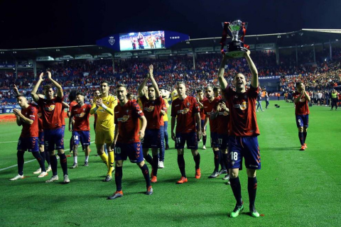 Fotos de la celebración del título de LaLiga 123 en El SaDAR