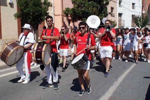 Todas las fotos del cohete de fiestas de Monteagudo 2019