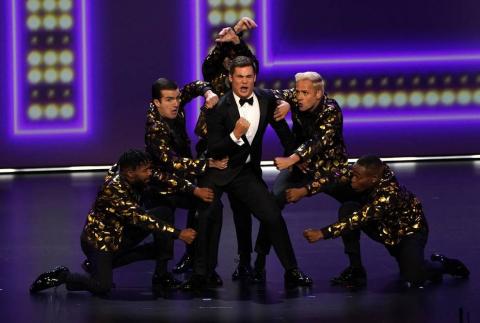 Imágenes de la alfombra roja y la entrega de los premios Emmy, en la que 'Juego de Tronos' fue la gran triunfadora en una noche repleta de sorpresas.