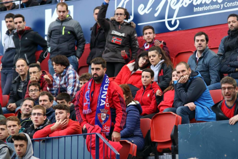 Todas las fotos del la afición en el Osasuna - Alavés