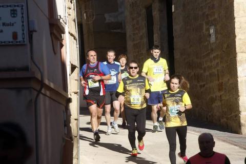 La cita, que reunió este domingo por la mañana a un total de 425 corredores, recaudó 300 euros para la asociación GERNA