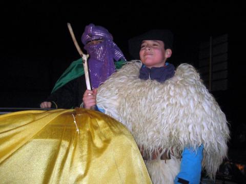 Fotos de las Cabalgatas de sus Majestades los Reyes Magos de Oriente en Baztan, Alsasua y Leitza.