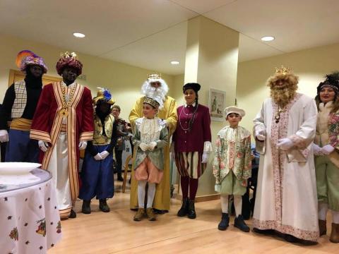 Fotos de la Cabalgata de sus Majestades los Reyes Magos de Oriente en Aoiz.