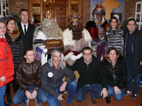 Fotos de la Cabalgata de sus Majestades los Reyes Magos de Oriente en Cintruénigo.