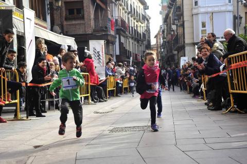 Trejo y Olave se imponen en las '10 Millas Peralta-Falces'