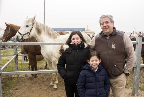 Los vecinos de Tafalla disfrutaron del día 6 al 9 de las tradicionales ferias de febrero. El domingo se celebraron los eventos relacionados con el ganado equino, con la entrada al recito ferial y la concentración y paseo de caballistas y enganches.