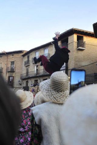 Galería de fotos del Carnaval celebrado el sábado 22 de febrero en Olite