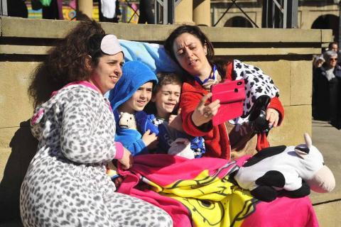 Galería de fotos del Carnaval celebrado el domingo 23 de febrero en Tafalla