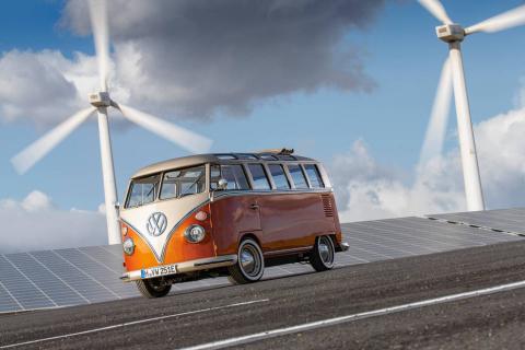 Fotos del Volkswagen e-BULLI