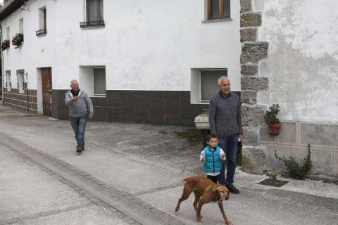 Los vecinos de Lizoáin han vivido decenas de movimientos sísmicos desde agosto