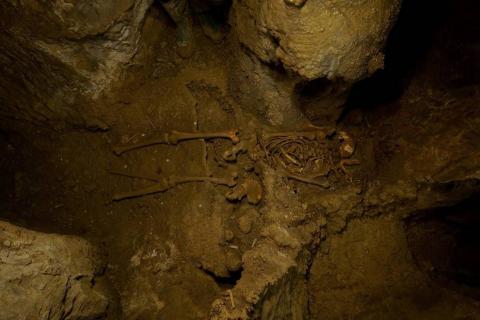 El 'hombre de Loizu', con más de 11.700 años, es el cuerpo humano completo más antiguo hallado en Navarra