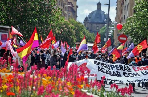 Los sindicatos sortean las restricciones para reivindicar el Primero de Mayo
