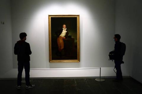 Imágenes del Museo de Navarra con motivo del Día Mundial de los Museos