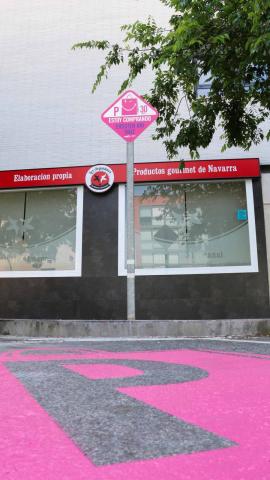 El Ayuntamiento del Valle de Egüés ha puesto en marcha esta experiencia piloto para agilizar el uso del coche para hacer lacompra.