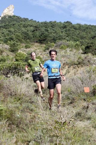 Corredores que este domingo 20 de junio participaron en la prueba de 25 kilómetros con salida y llegada en Villava