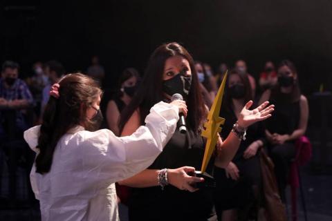 La idea Bioheart obtuvo el máximo galardón en el concurso internacional SciencEkaitza, celebrado este viernes 25 de junio en un Navarra Arena con las entradas agotadas para la gala.