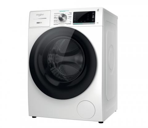 Lavadora Whirlpool W7X W845WRSPT. PRODUCTO DEL AÑO 2021. 599 € Clase B • 8 kg • 1.400 rpm • Zen Motor con 20 años de garantía • La lavadora más silenciosa del mercado • Steam Hygiene: La ropa se desinfecta de la manera más natural y delicada