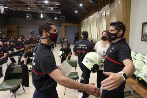 38 bomberos concluyen el curso básico de ingreso