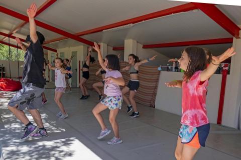 Campamento Sorgune del Centro de Interpretación de la Danza en Desojo
