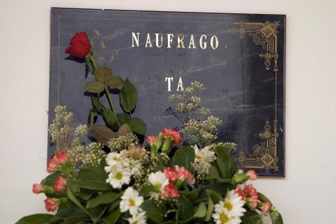 Algeciras. Dentro reposan los restos de una persona migrante