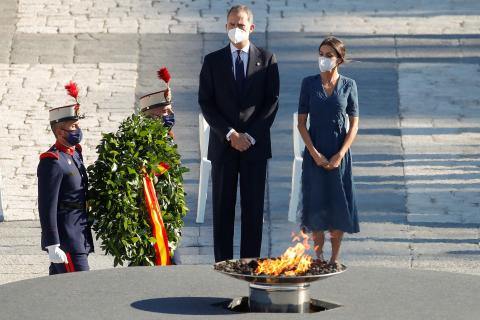 Fotos del homenaje a las víctimas del covid