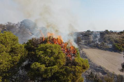Incendio Bardenas
