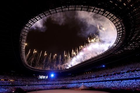 Ceremonia de inauguración de Tokio 2020
