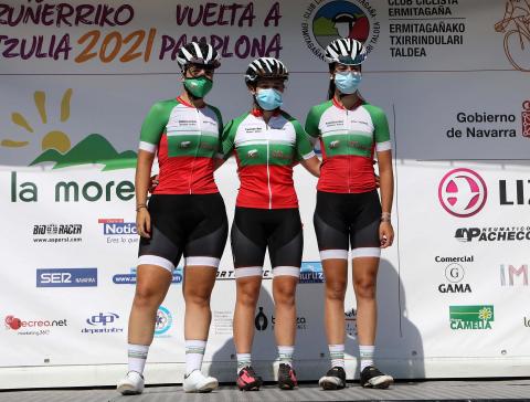 Vuelta a Pamplona júnior féminas