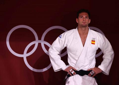Derrota del representante español de judo