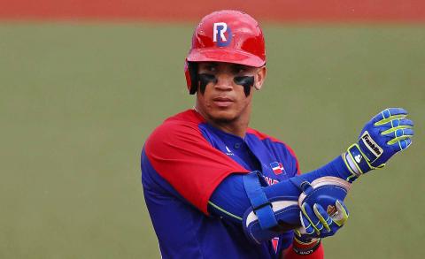 El jugador de béisbol dominicano