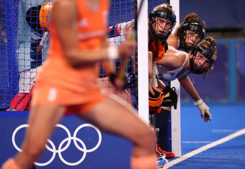 Selección británica femenina de hockey