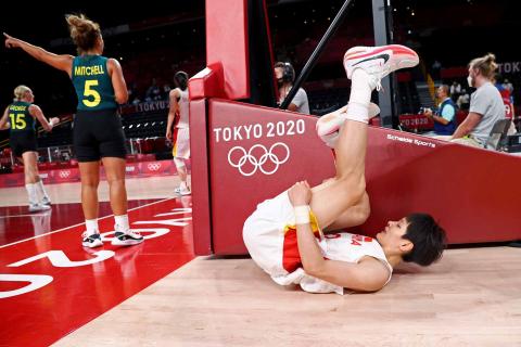 China-Australia de baloncesto femenino
