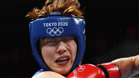 La boxeadora de Corea del Sur