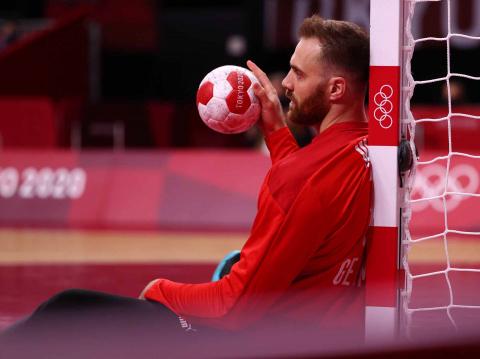 Portero alemán de balonmano