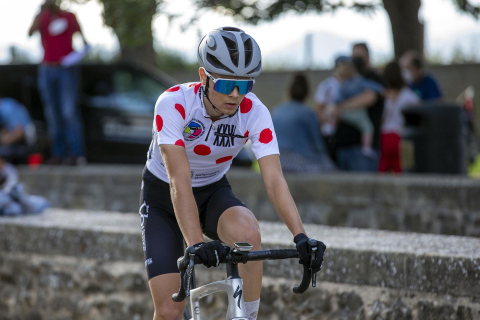 Última etapa de la Vuelta Ciclista Júnior a Pamplona con llegada en El Redín de Pamplona.