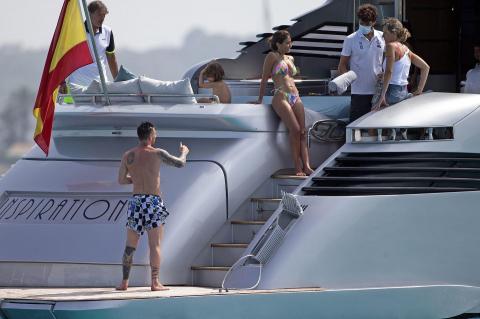 Las vacaciones de Messi, Luis Suárez y Cesc Fábregas en Ibiza