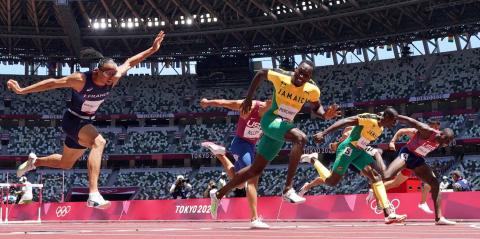 Final masculina de 110 metros vallas