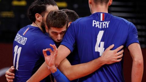 Selección francesa de vóley