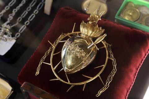 El corazón de Navarra, entregado a la virgen en 1953