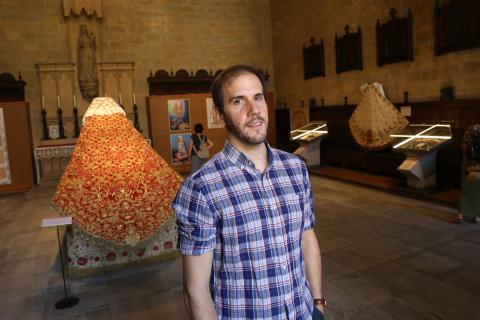 David Ascorbe, comisario de la exposición