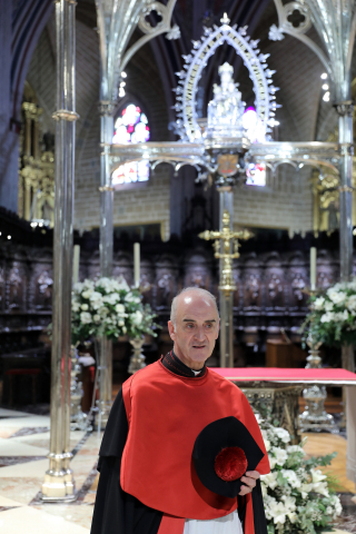 Carlos Ayerra, deán de la catedral de Pamplona