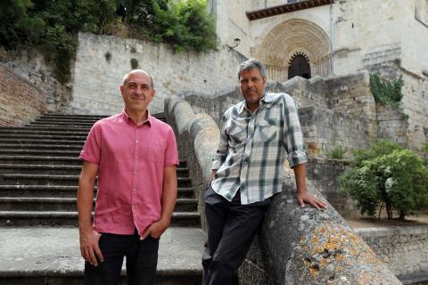 El Flamenco On Fire inicia hoy su edición de 2021 con el concierto en Estella de Ángel Ocray y Luis Chaves 'El Piti' en el balcón de la Oficina de Turismo de Estella