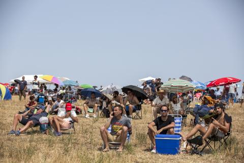 El Circuito de Navarra contó con la presencia de más de un millar de personas