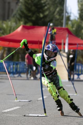 II Trofeo Ciudad de Pamplona de patinaje alpino