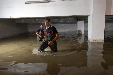 Inundaciones en Tudela