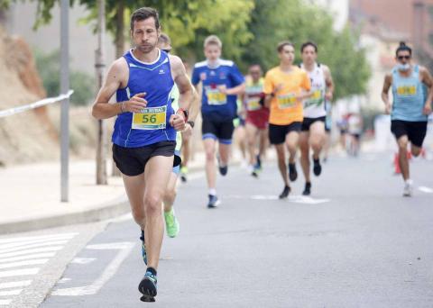 Fotos de los atletas en la VII Carrera Popular Ciudad de Viana
