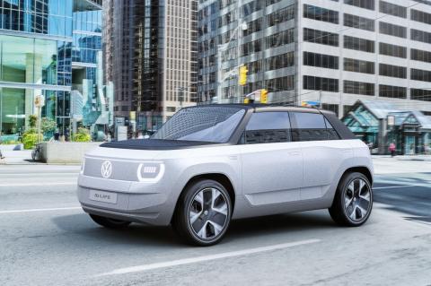Imagen del nuevo Volkswagen id-life, que Volkswagen Navarra aspira a fabricar
