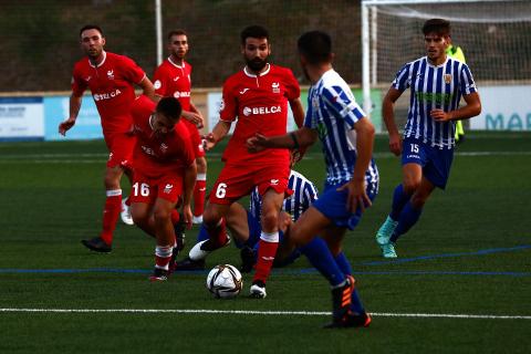 Imágenes de la final de la Copa RFEF disputada por el Izarra y el Ardoi
